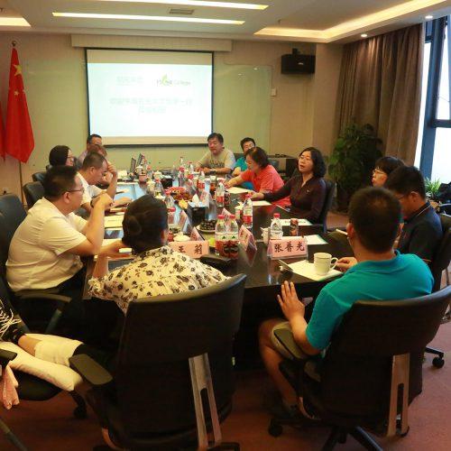 中国农业大学食品科学与营养工程学院一行 莅临稻田医疗服务集团参观交流