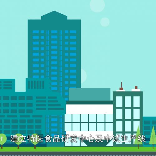 稻田集团健康产业园动画